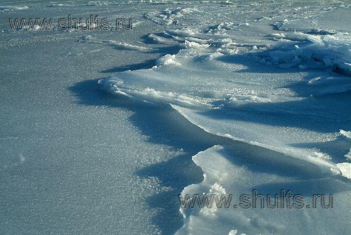 фото замёрзших волн